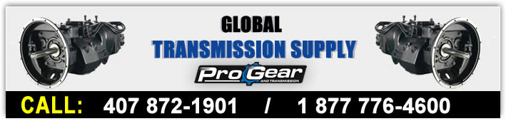 Global Transfer Case Supply powered by ProGear and transmission. Ring i dag 877-776-4600